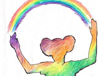 BugPea Colours the Rainbow